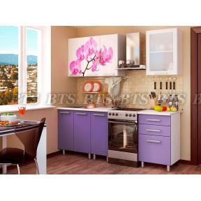 Кухня Орхидея 1,6м БТС