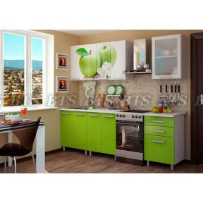 Кухня Яблоко 1,8м БТС
